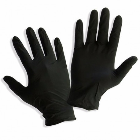 Nitrile MTN protective gloves in different sizes