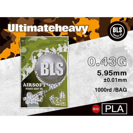 BLS Bille Biodegradable 0.43gr 1000 bbs