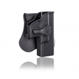 Amomax Holster Noir pour Glock 19 gaucher ou droitier GEN 2