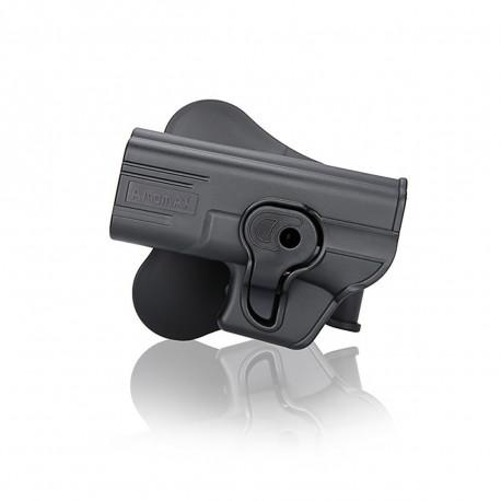 Amomax Holster Noir pour Glock 19 gaucher