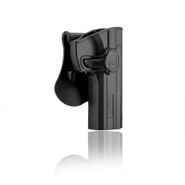 Amomax Holster Black for Glock 17 right hand GEN2