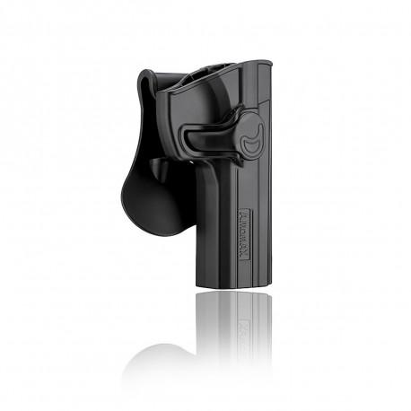 Amomax Holster Noir pour Glock 17 droitier