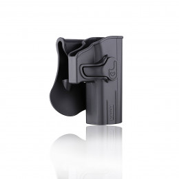 Amomax Holster Black for Glock right hand GEN1