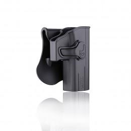 Amomax Holster Noir pour Glock droitier
