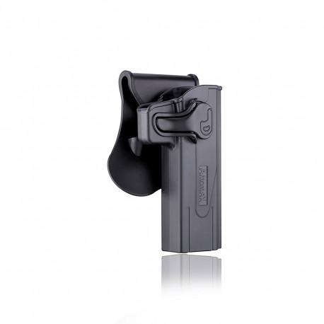 Amomax Holster Noir pour Hi-capa droitier GEN 2