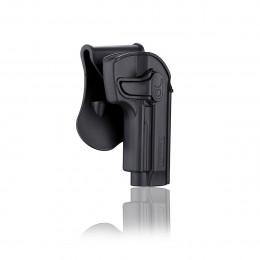Amomax Holster Black for Beretta M9 right hand GEN2
