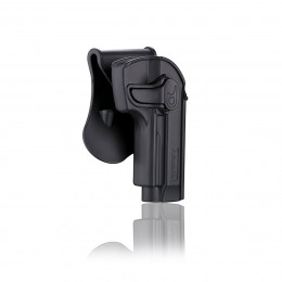 Amomax Holster Noir pour Beretta M9 droitier GEN2