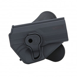 Amomax Holster Black for H&K USP right hand GEN1