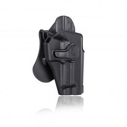 Amomax Holster Noir pour Walther P99 droitier GEN2