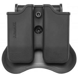 Amomax Porte chargeur Noir pour Glock series
