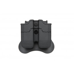 Amomax Magazine pouch in black for PX4, H&K P30, USP, USP Compact