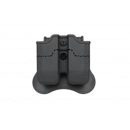Amomax Porte chargeur Noir pour PX4, H&K P30, USP Compact