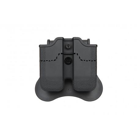 Amomax Porte chargeur Noir pour PX4, H&K P30, USP, USP Compact