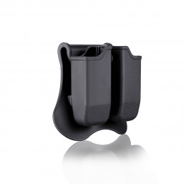 Amomax Magazine pouch in black for P226, M9, CZ P09