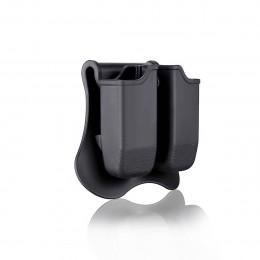 Amomax Porte chargeur Noir pour P226, M9, CZ P09