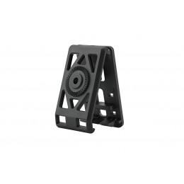 Amomax fixation ceinture noir pour holster et porte chargeur