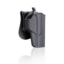 Cytac Holster Black T-thumbsmart for Glock 17 (Gen1,2,3,4,5) , 22, 31 (Gen1,2,3,4)