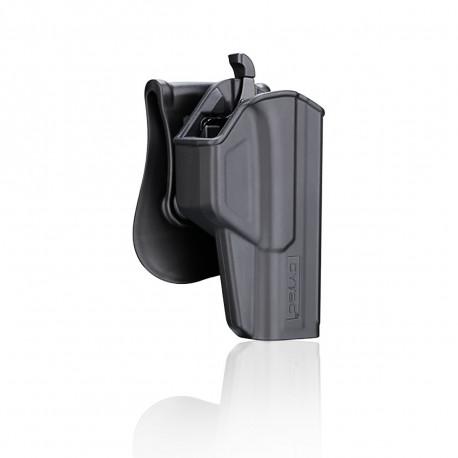 Cytac Holster Black T-thumbsmart for Glock 17 (Gen1,2,3,4,5) , 22, 31 (Gen1,2,3,4)