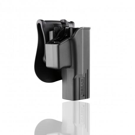 Cytac Holster Noir T-thumbsmart pour Glock 19, 23, 32 (Gen 1, 2, 3, 4)