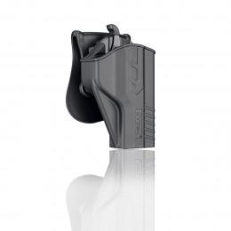 Cytac Holster Noir T-thumbsmart pour S&W M&P 9mm, S&W M&P9 M2.0, Girsan MC 28 SA