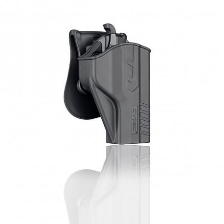 Cytac Holster Black T-thumbsmart for S&W M&P 9mm, S&W M&P9 M2.0, Girsan MC 28 SA