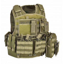 ARMOUR CARRIER SET OLIVE DRAB DEFCON 5