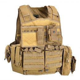 ARMOUR CARRIER SET TAN DEFCON 5
