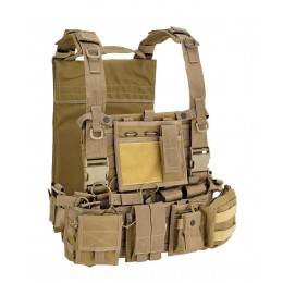 GILET DE COMBAT RECON HARNESS TAN DEFCON5