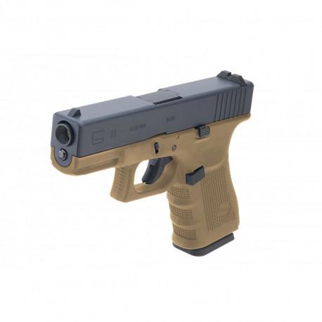 WE Glock 19 Gen4 Tan GBB