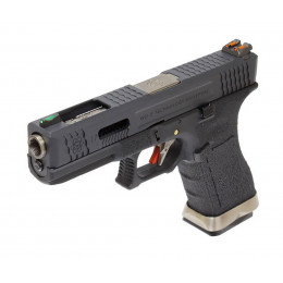 WE Glock 17 T5 Black/silver