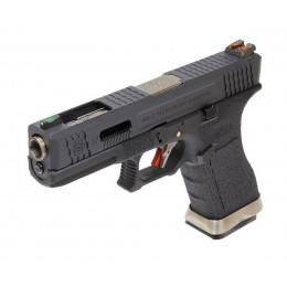WE Glock 17 T5 Noir/argent