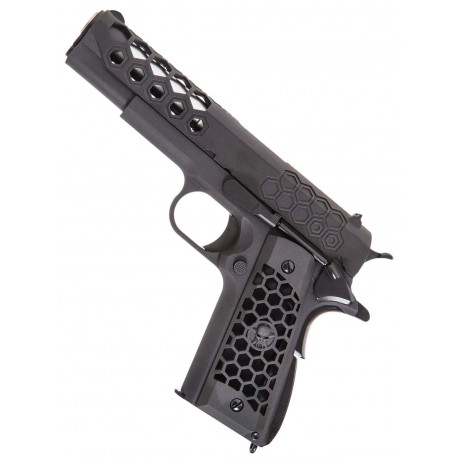 WE 1911 GEN 2 Hex cut GBB full metal black