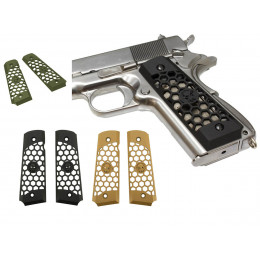WE Grip Hex-Cut pour Pistolet 1911 en divers couleurs