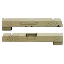 Guarder culasse aluminium pour Hi-Capa 4.3 Marui OPS TACTICAL TAN