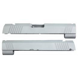 Guarder culasse aluminium pour Hi-Capa 4.3 Marui sans marquage Silver