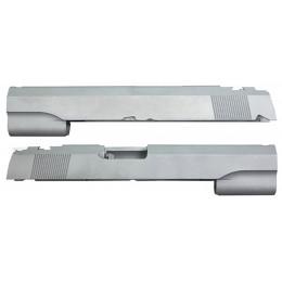 Guarder culasse aluminium pour Hi-Capa 5.1 Marui sans marquage Silver