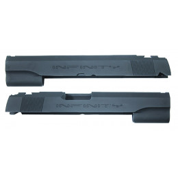 Guarder culasse aluminium pour Hi-Capa 5.1 Marui INFINITY NOIR
