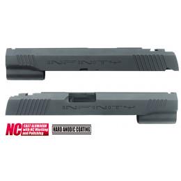 Guarder culasse aluminium custom pour Hi-Capa 5.1 Marui INFINITY NOIR