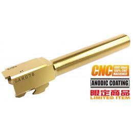 Guarder CNC Titanium Golden Outer Barrel for TM G17