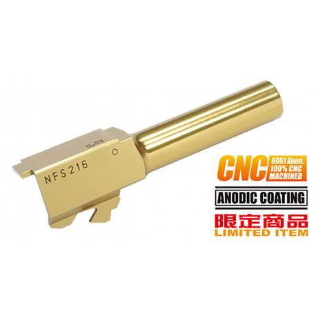 Guarder CNC Titanium Golden Outer Barrel for TM G26