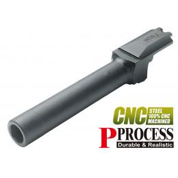 Guarder Canon externe acier CNC noir pour M&P9 Marui