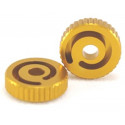 Maple Leaf hop-up adjustment wheel for GBB Marui / WE