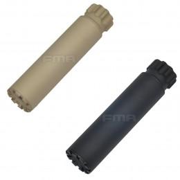 Silencieux aluminium SPECTER Noir ou Tan de 150mm en 14mm CW ou CCW