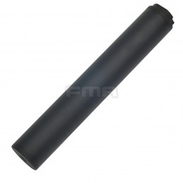 Aluminium Silencer Octane-II Black of 215mm in 14mm CW and CCW