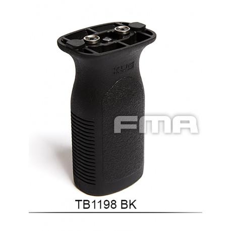 Poignee verticale FVG Keymod Noir