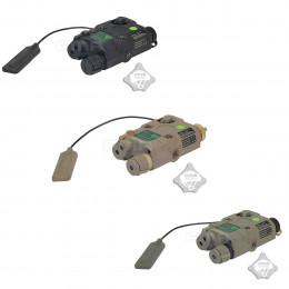 AN/PEQ 15 LED + laser vert + LED IR