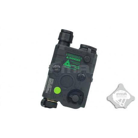 AN/PEQ 15 LED + Green Laser + LED IR Black