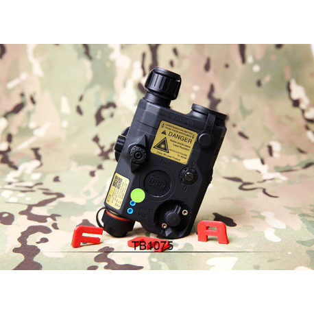 AN/PEQ LA5-C LED + Green Laser + Laser IR Black
