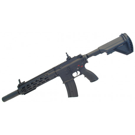 "Assault rifle type 416 Delta 10,5"" AEG black ECEC System + silencer"