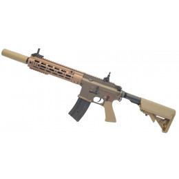 "Assault rifle type 416 Delta 10,5"" AEG Brown ECEC System + silencer"